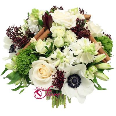 Ordina 02 Bouquet Bianco online e invia a domicilio