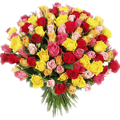 Bouquet  XXL di Rose Colorate