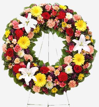 Ordina 24 Ghirlanda per Funerale online e invia a domicilio