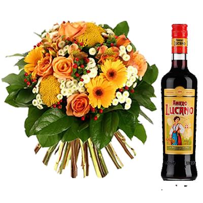 Bouquet Elegante con Amaro Lucano