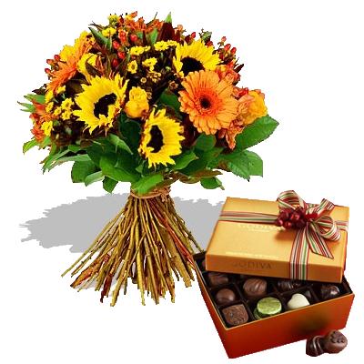 Bouquet Estate con Cioccolatini