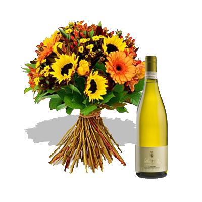 Bouquet Estate con Vino Bianco