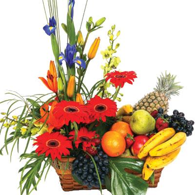 Ordina 02 Fiori e Frutta online e invia a domicilio