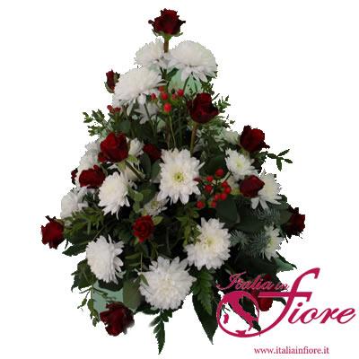 Fiori per lutto consegna gratuita a domicilio con for Acquisto piante e fiori on line