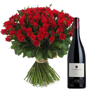Ordina 11 Grandiosa con Vino Rosso online e invia a domicilio
