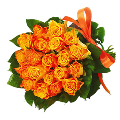 Ordina 06 Rose Gialle - Arancio online e invia a domicilio