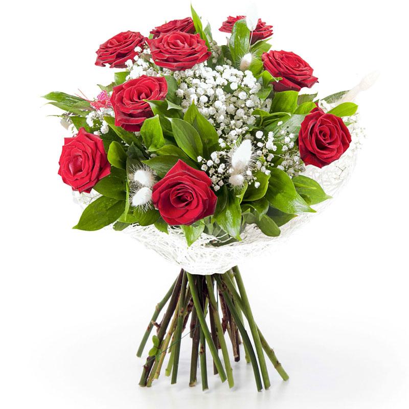 Spedire 9 rose rosse