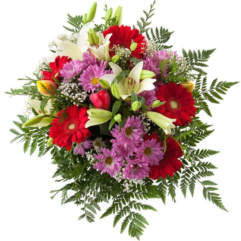 Spedire bouquet di fiori misti alto