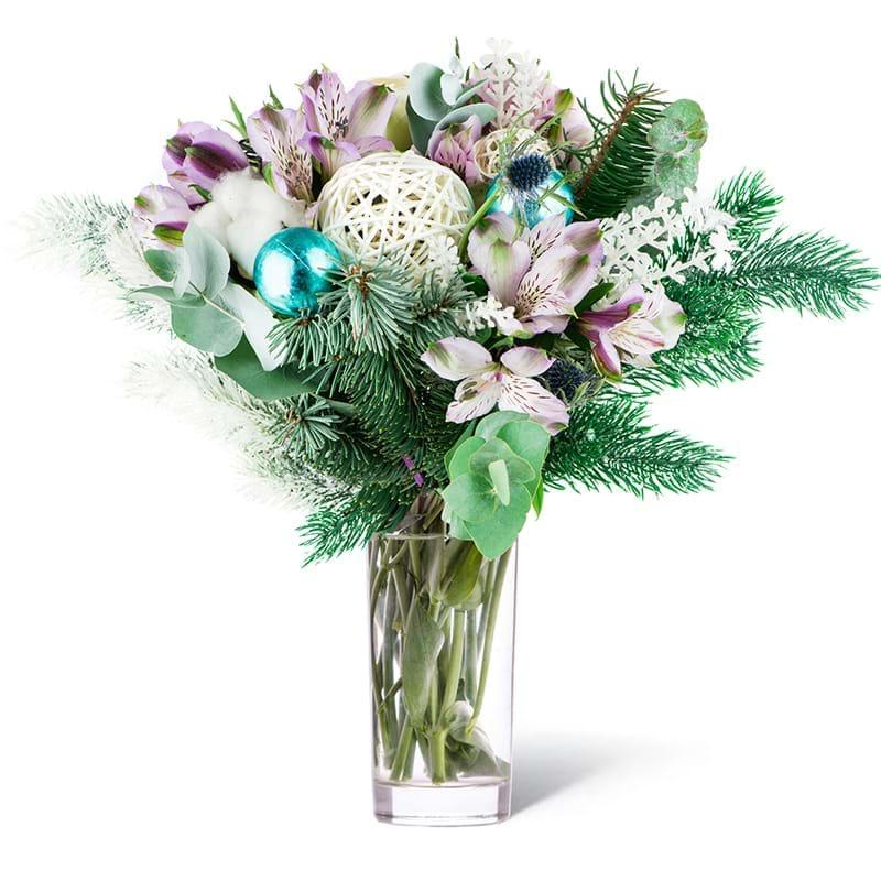 Spedire bouquet ghiaccio in vaso