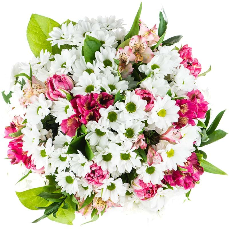 Spedire bouquet margherite vista alto