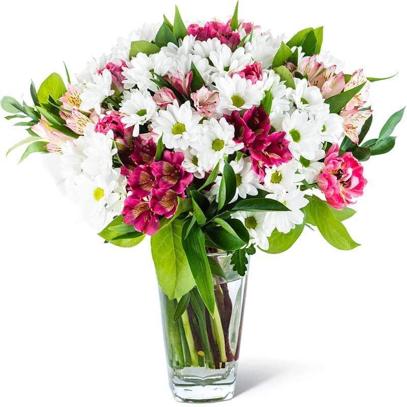 Spedire bouquet margherite in vaso