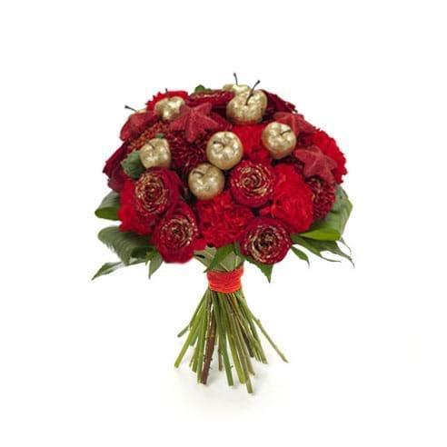 Spedire bouquet natalizio