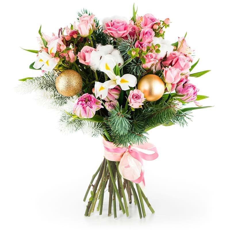 Spedire bouquet natalizio romantico