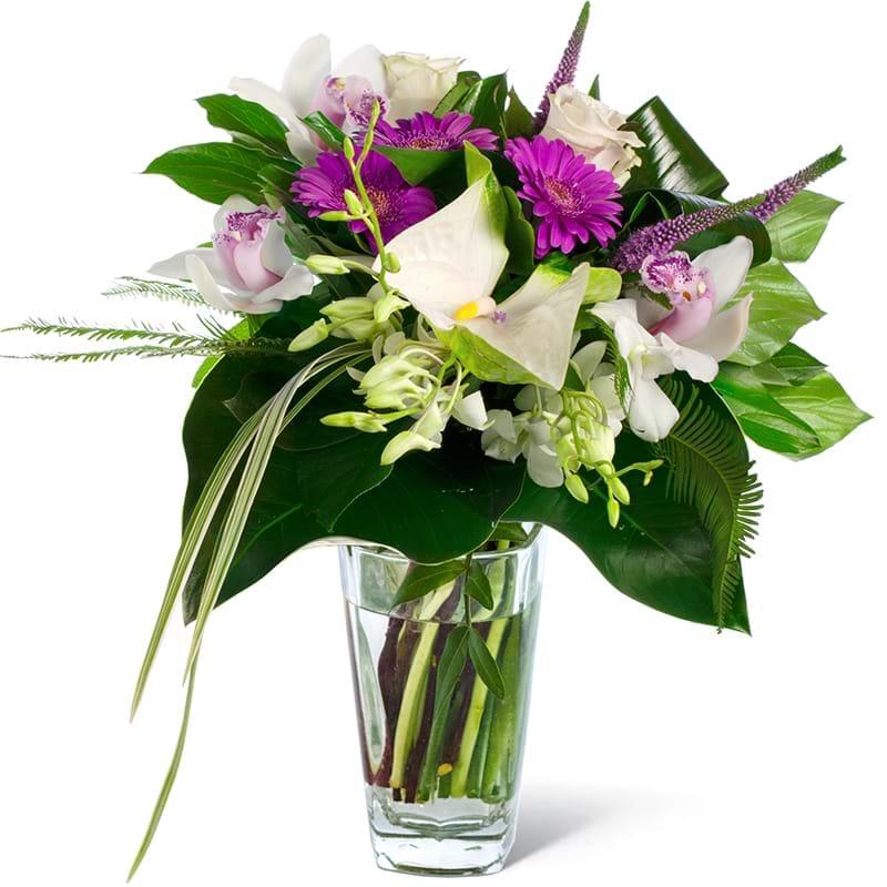 Spedire bouquet particolare in vaso