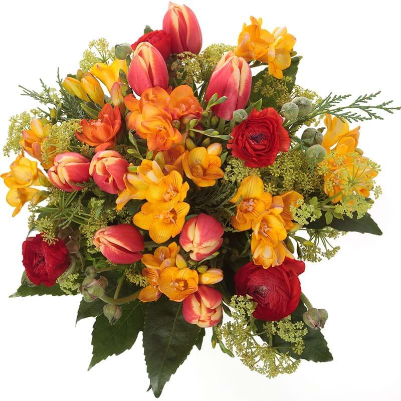 Spedire bouquet primavera vista alto