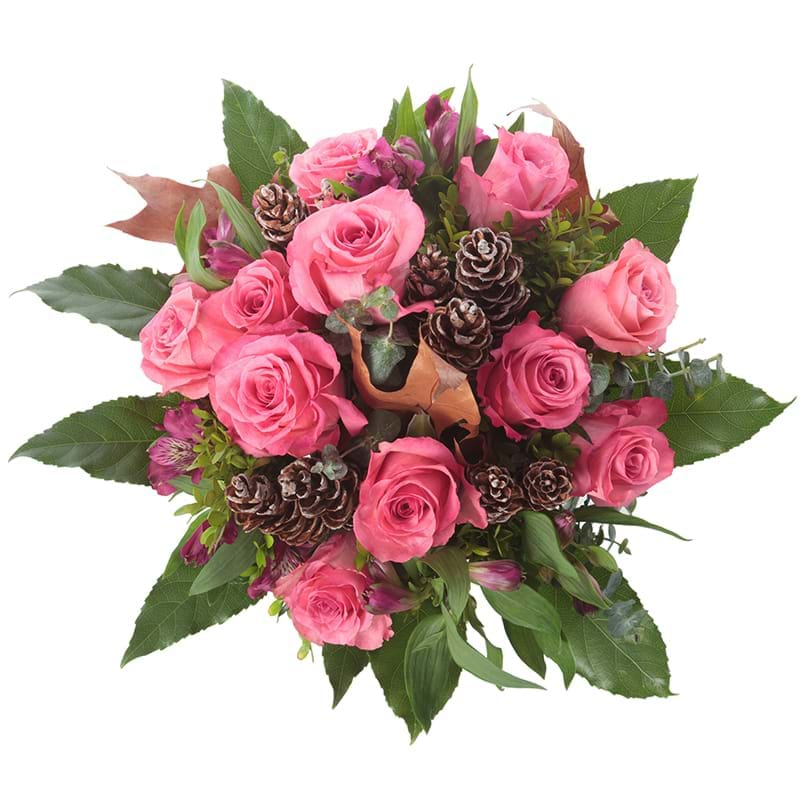 Spedire bouquet_rosa_rose_intenso_alto