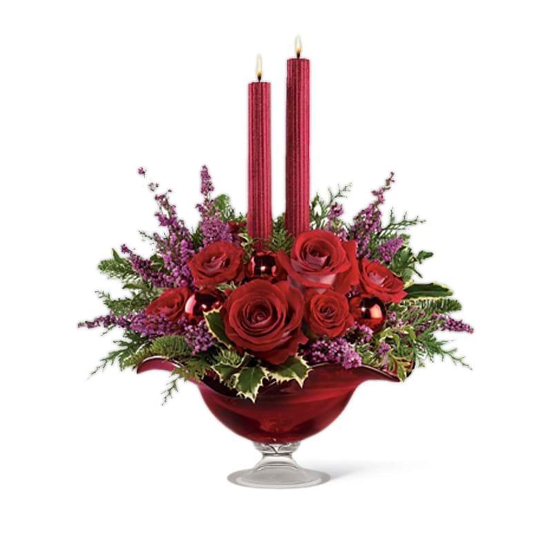 Spedire composizione natalizia in vaso
