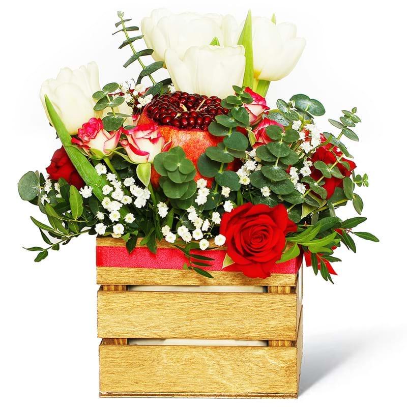 Spedire fiori e frutta in cassetta