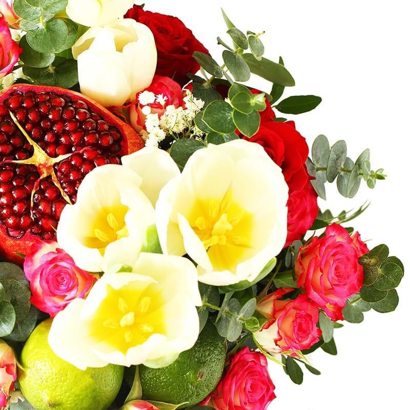 Spedire fiori e frutta in cassetta particolare