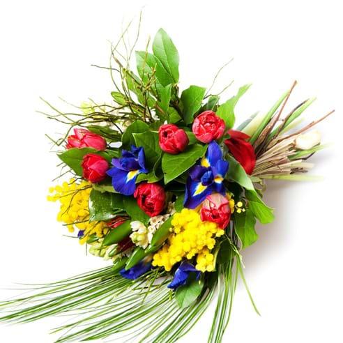Spedire fiori misti fedta della donna