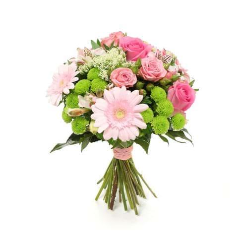 Spedire fiori misti rosa