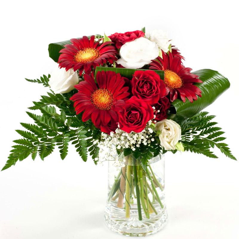 Spedire fiori san valentino con vaso