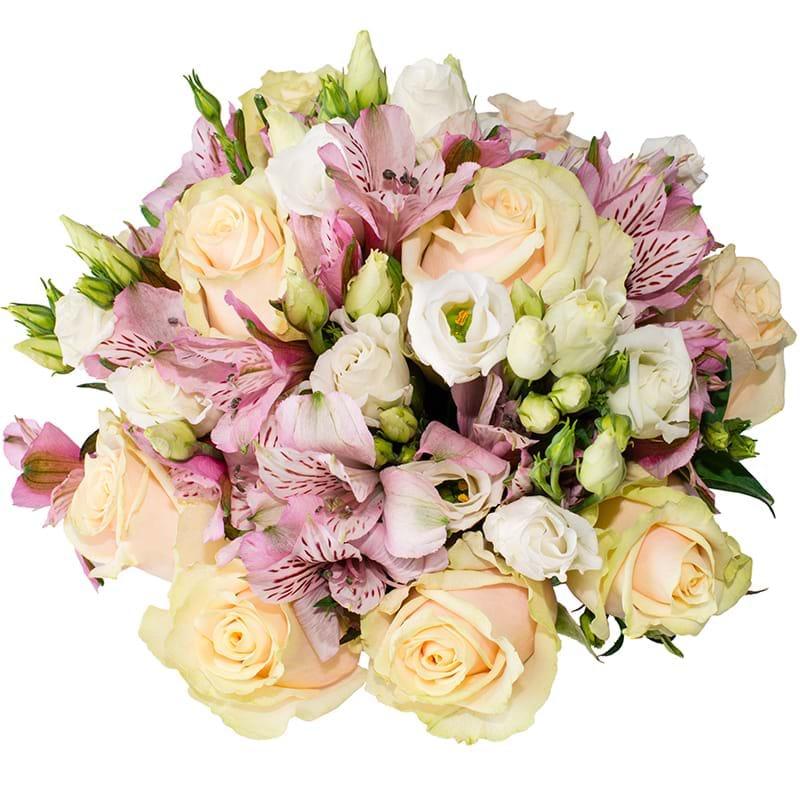 Spedire rose astromerie e lisiantus vista alto