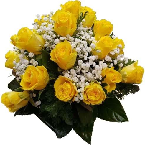 Spedire rose gialle vista alto