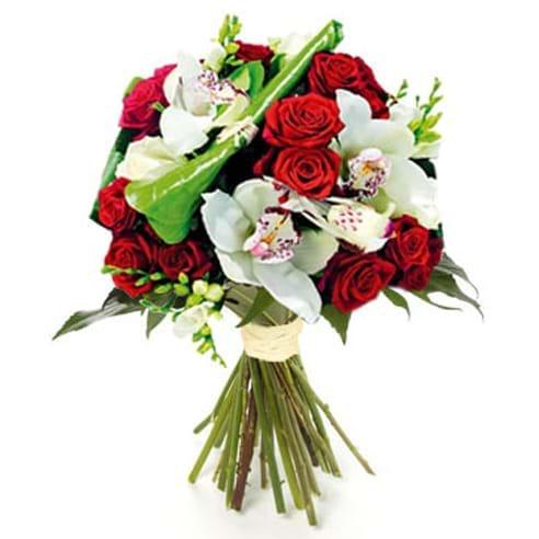Spedire rose rosse e orchidee